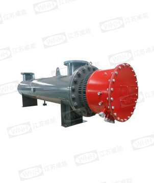 Compressed air electric heater