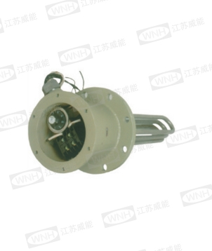 Flange type explosion-proof electric heater